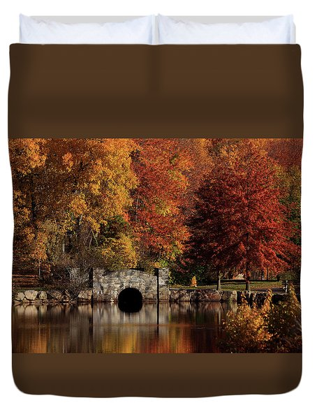 Twin Brooks Duvet Cover by Karol Livote