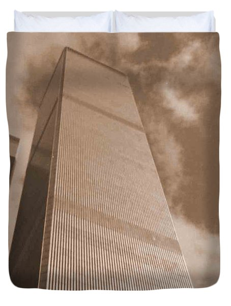 Twin Tower Duvet Cover