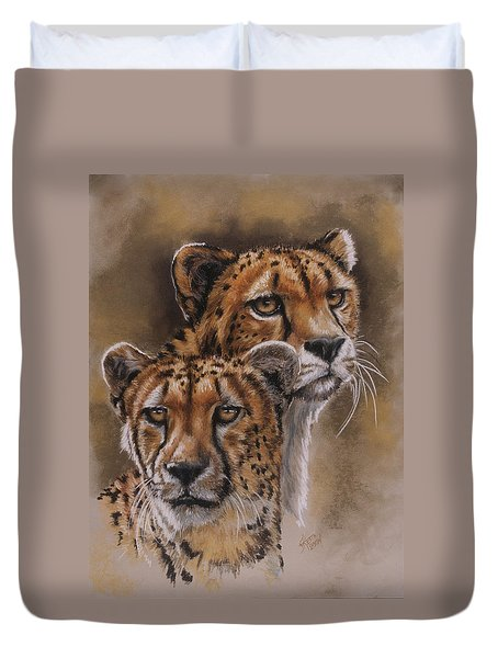 Twins Duvet Cover by Barbara Keith