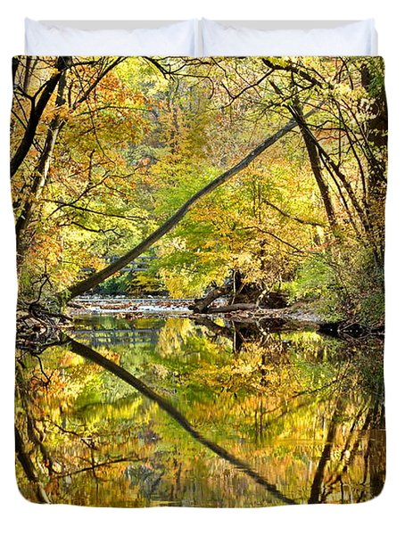 Twins Duvet Cover by Frozen in Time Fine Art Photography