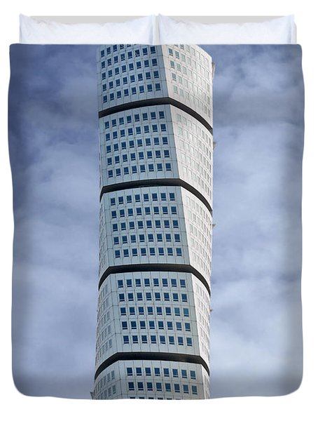 Twisted Architecture Duvet Cover