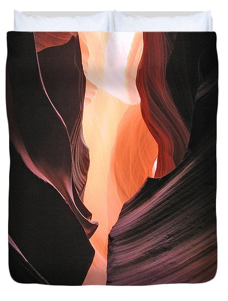 Twisted Canyon Duvet Cover