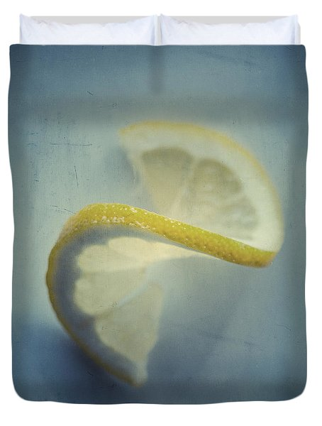 Twisted Lemon Duvet Cover by Ari Salmela