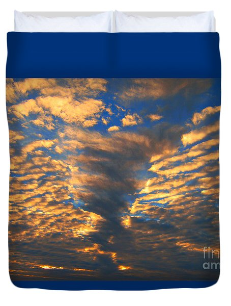 Twisted Sunset Duvet Cover