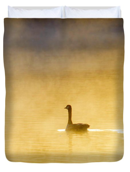 Two Geese Duvet Cover by Tommytechno Sweden