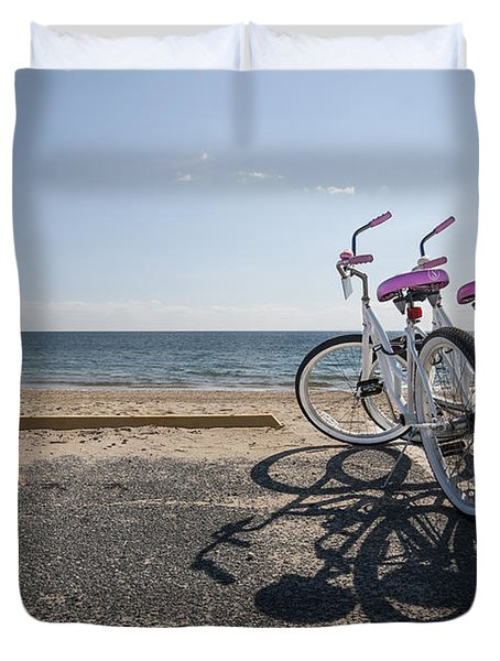 Two If By The Sea Duvet Cover