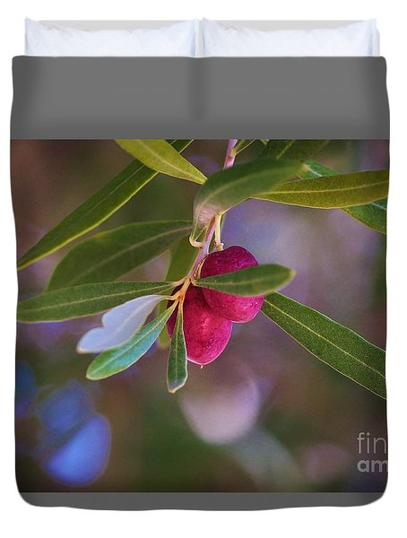 Two Olives Please Duvet Cover