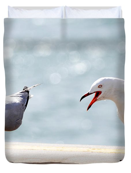 Two Seagulls Duvet Cover