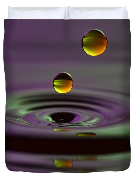 Two Suns Duvet Cover