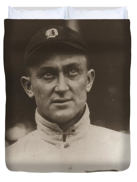 Ty Cobb 1915 Duvet Cover by Unknown