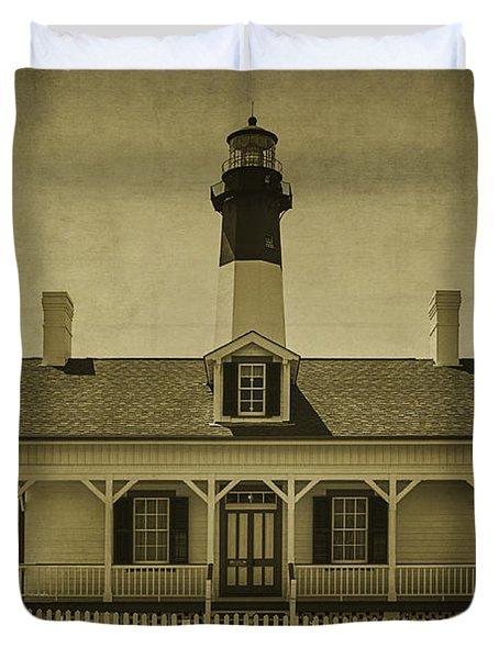 Tybee Lighthouse Duvet Cover