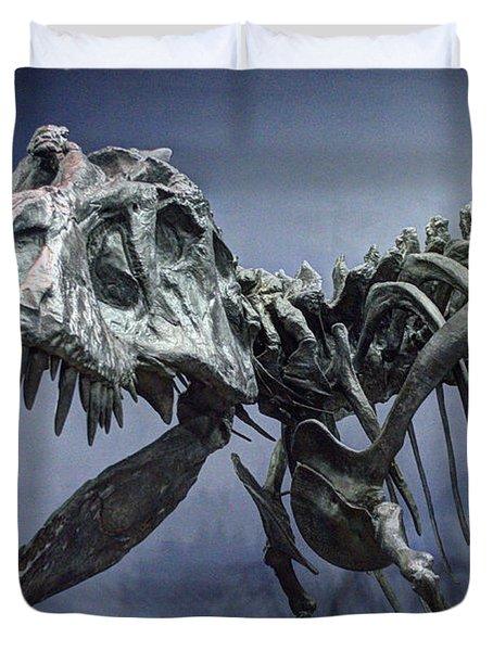 Tyrannosaurus Jane Duvet Cover