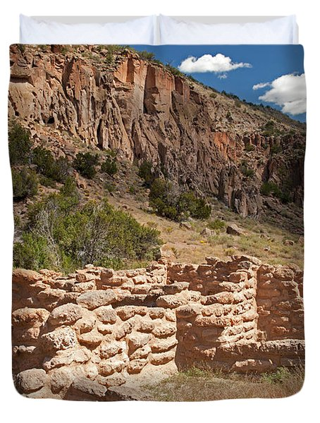 Tyuonyi Bandelier National Monument Duvet Cover