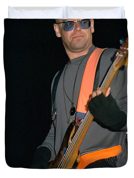 U2-adam-gp24 Duvet Cover by Timothy Bischoff