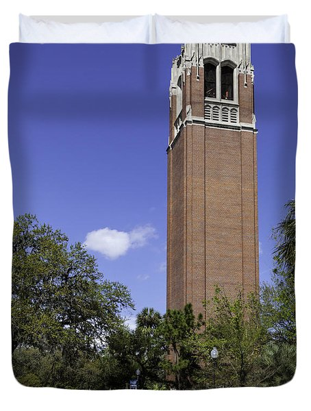 Uf Century Tower And Newell Drive Duvet Cover