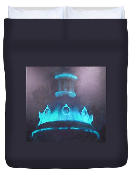 Ufo Dome Duvet Cover by Blue Sky