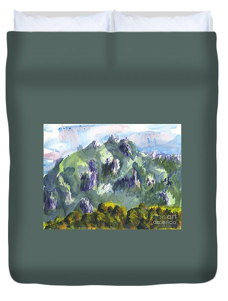 Uintah Highlands 1 Duvet Cover