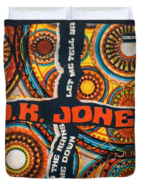 Uk Jones Let Me Tell Ya Duvet Cover