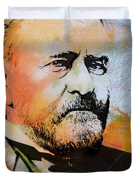 Ulysses S. Grant Duvet Cover by Corporate Art Task Force