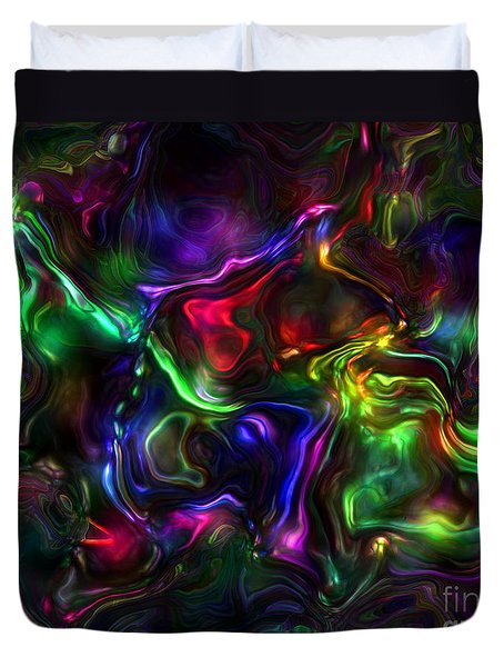 Umbilical Souls Duvet Cover by RC deWinter