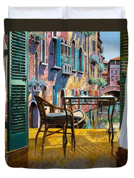 Un Soggiorno A Venezia Duvet Cover
