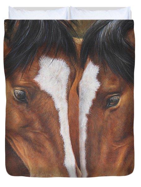 Unbridled Affection Duvet Cover