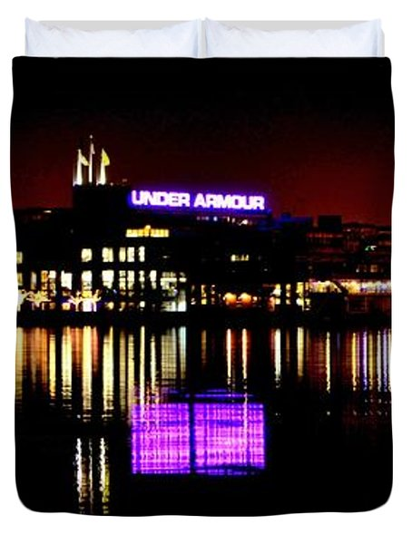 Under Armour At Night Duvet Cover