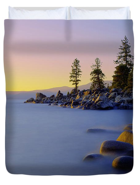 Under Clear Skies Duvet Cover