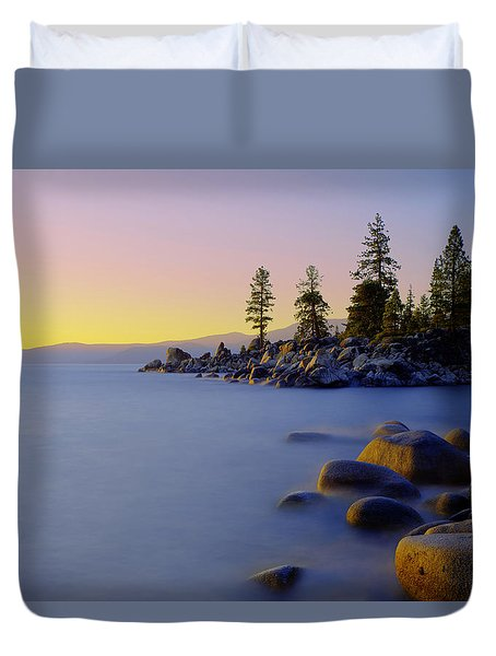 Under Clear Skies Duvet Cover by Chad Dutson