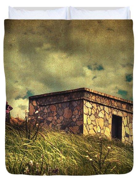 Under Dreamskies Duvet Cover by Taylan Apukovska