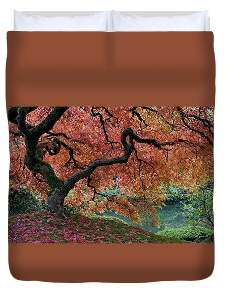 Under Fall's Cover Duvet Cover
