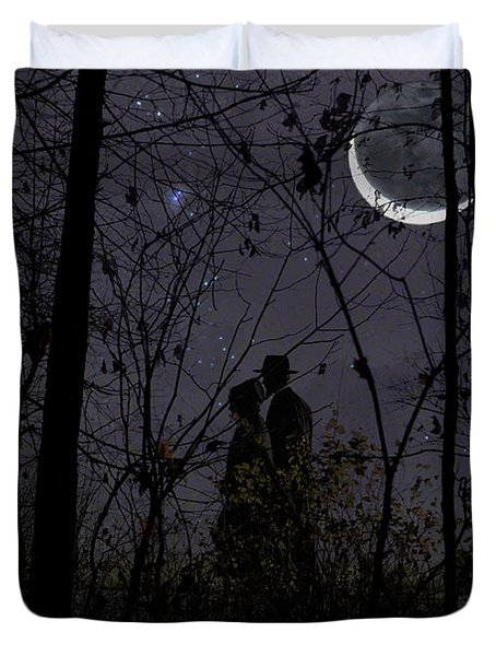 Under Moon Duvet Cover