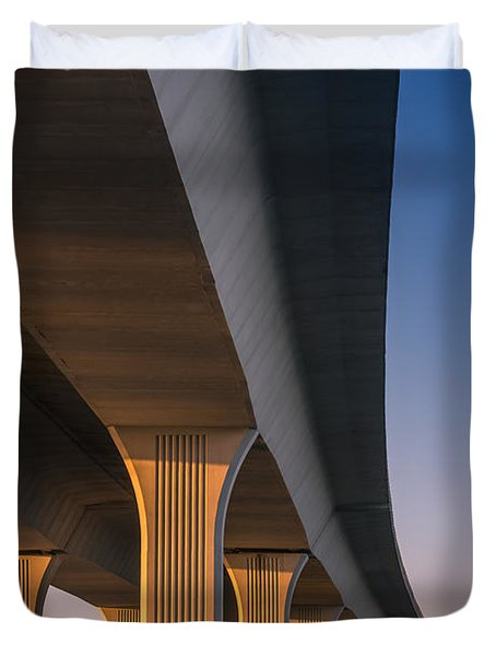 Under The Bridge Duvet Cover