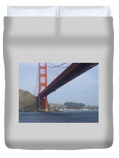 Under The Golden Gate Duvet Cover