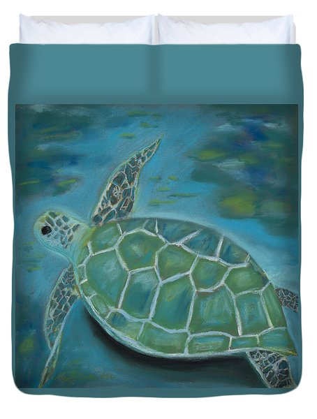 Under The Sea Duvet Cover by Mary Benke