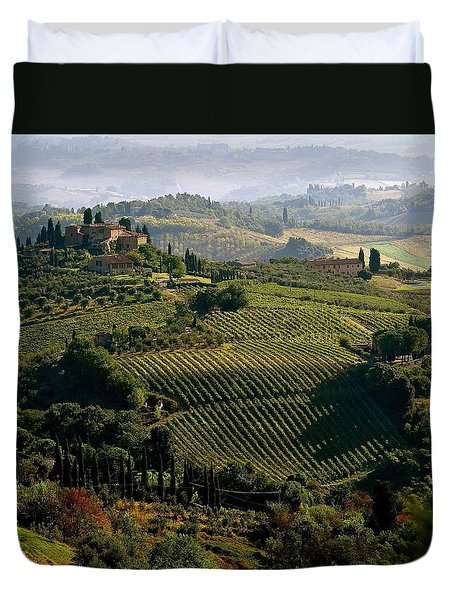 Under The Tuscan Sun Duvet Cover by Ira Shander