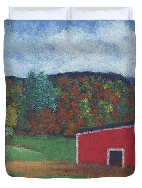 Undermountain Autumn Duvet Cover