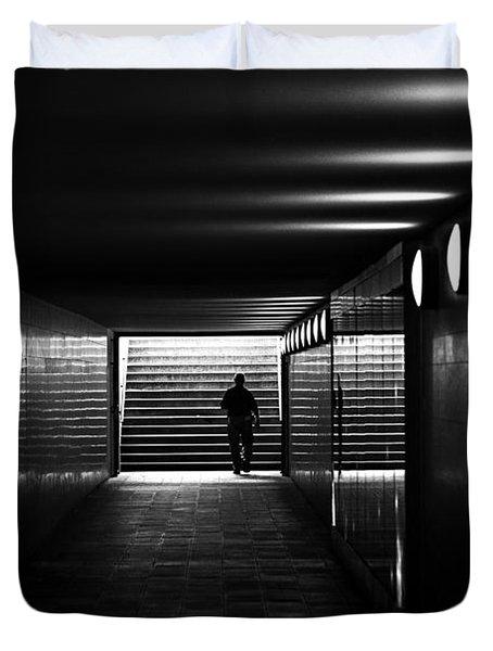 Underpass Berlin Duvet Cover