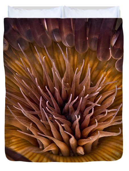 Underwater Flower Duvet Cover