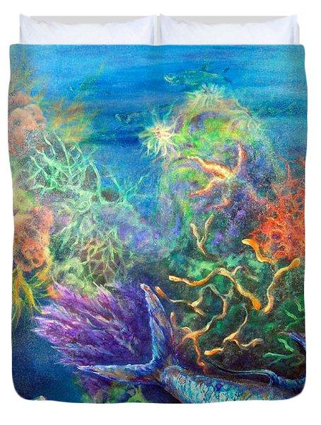 Jesus Reef  Duvet Cover