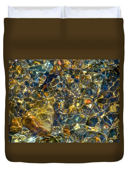 Underwater Jewels Duvet Cover