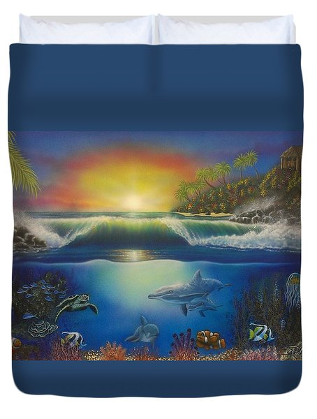 Underwater Paradise Duvet Cover
