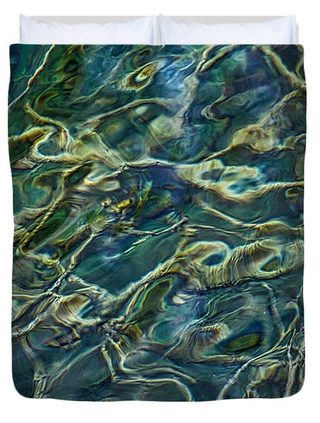 Underwater Roots Duvet Cover