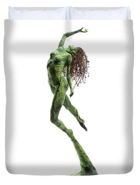 Unfurled Duvet Cover by Adam Long