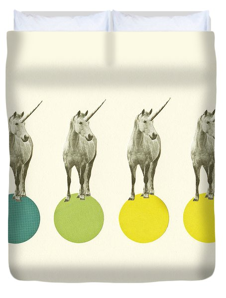 Unicorn Parade Duvet Cover