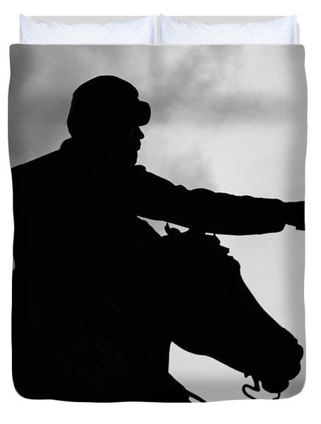 Union Silhouette  Duvet Cover
