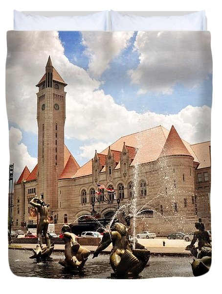 Union Station 1 Duvet Cover by Marty Koch