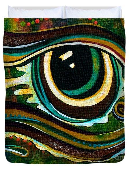 Unique Spirit Eye Duvet Cover