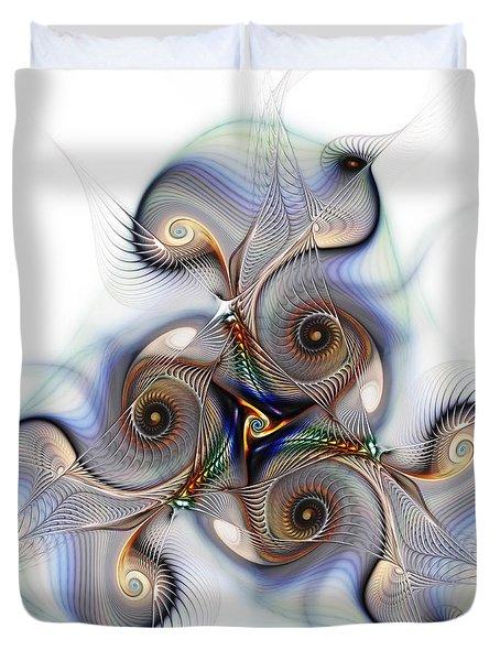 Unison Fractal Art Duvet Cover