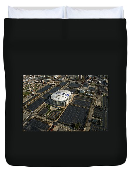 United Center Chicago Sports 10 Duvet Cover by Thomas Woolworth